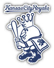 Kansas City Royals MLB Baseball King Car Bumper Sticker - 9'',12'' or 14'' on Ebay
