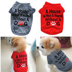 Boy Dog Clothes Girl Pet T Shirt, Dog Clothing, Size XSmall to Medium Puppy Cat