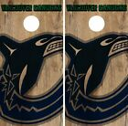 Vancouver Canucks Cornhole Skin Wrap NHL Hockey Vintage Design Vinyl DR114 $39.99 USD on eBay