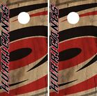 Carolina Hurricanes Cornhole Skin Wrap NHL Hockey Custom Vintage Art Vinyl DR126 $39.99 USD on eBay