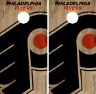 Philadelphia Flyers Cornhole Skin Wrap NHL Hockey Vintage Design Vinyl DR149 $39.99 USD on eBay