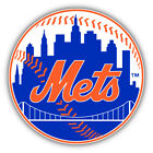 New York Mets MLB Baseball Ball Car Bumper Sticker Decal - 9'', 12'' or 14'' on Ebay