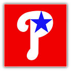 Philadelphia Phillies MLB Baseball Red  Car Bumper Sticker - 9'', 12'' or 14'' on Ebay