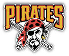 Pittsburgh Pirates MLB Baseball Combo Car Bumper Sticker - 3'', 5'' or 6'' on Ebay