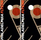 Philadelphia Flyers Cornhole Skin Wrap NHL Hockey Custom Team Logo Vinyl DR151 $39.99 USD on eBay