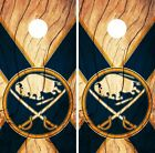 Buffalo Sabres Cornhole Skin Wrap NHL Hockey Custom Wood Design Vinyl DR165 $39.99 USD on eBay