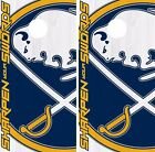 Buffalo Sabres Cornhole Skin Wrap NHL Hockey Vintage Design Vinyl DR167 $39.99 USD on eBay