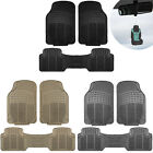3pc Floor Mats for Auto Car SUV Van Heavy Duty 3 Colors w/ Free Gift $15.54 USD on eBay