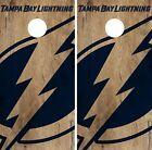Tampa Bay Lightning Cornhole Skin Wrap NHL Hockey Vintage Game Board Vinyl DR189 $39.99 USD on eBay