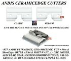 Andis CeramicEdge Detachable Blade CERAMIC CUTTER*Fit Oster A5 A6 76 97 Clippers