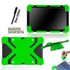 "Fit Various 10"" Tablet - Universal Shockproof Silicone Stand Cover Case + Stylus"