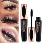 Black 4D Silk Fiber Eyelash Mascara Eyelash Dense Women Waterproof Makeup
