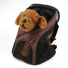 Outdoor Bus Pet Dog Mesh Backpack Carry Bag Cat Rabbit Breathable Carriers