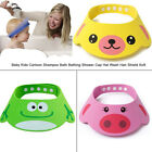 Baby Kids Bath Shower Wash Head Hair Waterproof Shield Cap Hat Eye Protector