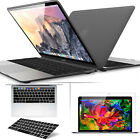 """[2018 Macbook Pro 13""""A1989] Soft Rubberized Case with KB Cover Screen Protector"""