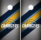 Los Angeles Chargers Cornhole Skin Wrap NFL Football Flag Vintage Decal DR40 $39.99 USD on eBay
