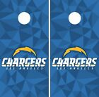 Los Angeles Chargers Cornhole Skin Wrap NFL Football Flag Art Decor Decal DR44 $59.99 USD on eBay