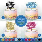 PERSONALISED Harry Potter Cake Toppers Custom Kids Happy Birthday Cake Toppers