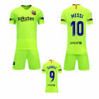 18/19 New Kids Boy Football Jersey Kit Soccer Wears Short Sleeve Shirt +Socks UK