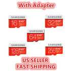 SAMSUNG EVO Extra 16 32 64 128GB MicroSD Class 10 Flash Memory Card w/ SD Adapter