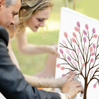 Внешний вид - Thumb Print Fingerprint Tree Wedding Guest Book Guestbook Alternative Memory