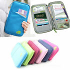 Money IDs Travel Wallet Passport Holder RFID Organiser Pouch for Cards Documents