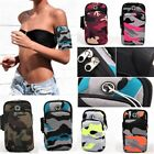 Running Armband for iPhone Samsung Universal Smartphone Keys Arm Pouch
