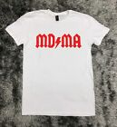 I/'d Rather Be On Molly X Ecstasy MDMA Tripping Rolling Men/'s V-Neck Ringer Tee