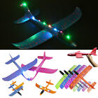 Внешний вид - Gift Luminous Airplane Foam EVA Throwing Glider Outdoor Toy LED Airplane Model
