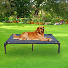 Elevated Dog Oxford Fabric Mesh Bed Lounger Sleep Pet Cat Raised Cot Hammock