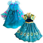 frozen fever - NEW Disney Store Frozen Fever Queen Elsa or Anna Princes Costume 7/8 9/10