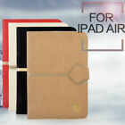 Multiple Color PU Leather Smart Case Cover Protector Table Stand For iPad 5/Air
