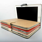 PU Leather Colorful Smart Case Cover Protector Table Stand For iPad 6 / Air 2