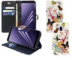 Samsung Galaxy A6 2018 PU Leather Colourful Designer Wallet Flip floral + S Pen