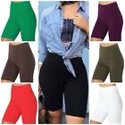 Cotton Spandex Biker Shorts LOT 1-6- 35 Bermuda Women's Plus Size HI-WAIST S-3XL