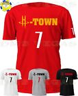 Houston Rockets Carmelo Anthony H-Town 7 Jersey Tee Shirt Men Size S-5XL on eBay