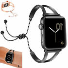 Women Design Hollow Metal Aluminum Wrist Band For Apple Watch iWatch 38mm 42mm   image