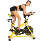 ANCHEER Exercise Bike 49 LBS Wheels Stationary Bicycle Cardio Fitness CcHome Gym