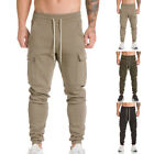Men Army Camo Cargo Combat Military Trousers Camouflage Long Casual Cargo Pants