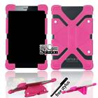 Bumper Silicone Stand Cover Case For BLU Touchbook G7 M7 Tablet + Stylus