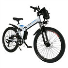 Fat Tire 26'' Folding Electric Mountain Bike Bicycle Ebike 36V,250W 30km/h Cheap