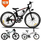 Ancheer Folding Electric Bike City Mountain Cycling E-Bike 36V 250W 26