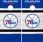 Philadelphia 76ers Cornhole Skin Wrap NBA Basketball Team Colors Vinyl DR317 on eBay