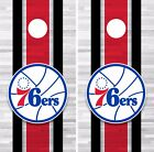 Philadelphia 76ers Cornhole Skin Wrap NBA  Team Colors Art Decor Vinyl  DR318 on eBay