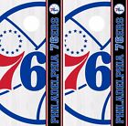 Philadelphia 76ers Cornhole Skin Wrap NBA Basketball Team Logo Vinyl Decal DR319 on eBay