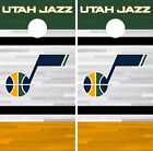 Utah Jazz Cornhole Skin Wrap NBA Basketball Team Logo Vinyl Decal DR335 on eBay