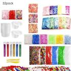 Slime Supplies Kit 25/52 Pack Slime Beads Charms Slime Tool For DIY Slime Making