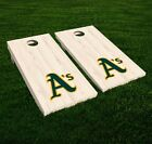 Oakland Athletics Cornhole Decal Vinyl MLB Baseball Car Wall Set of 2 GL42 on Ebay