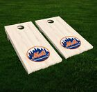 New York Mets Cornhole Decal Vinyl MLB Baseball Car Wall Set of 2 GL55 on Ebay