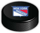 New York Rangers NHL Logo Hockey Puck Car Bumper Sticker Decal-9'', 12'' or 14'' $13.99 USD on eBay